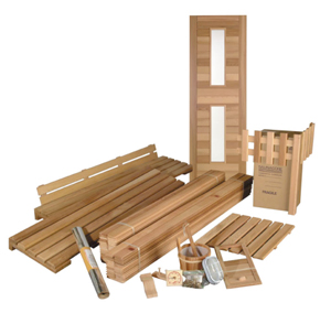 do it yourself sauna kits saunacore